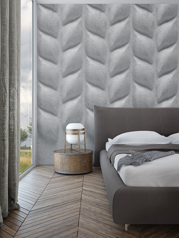 3d-grey-large-petals-designer-wallpaper-mural