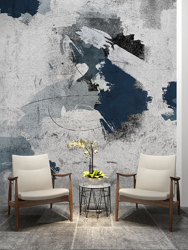 Abstract Painting Wallpaper Mural