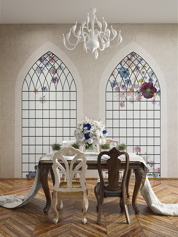 botanic-garden-victorian-window-designer-wallpaper-mural