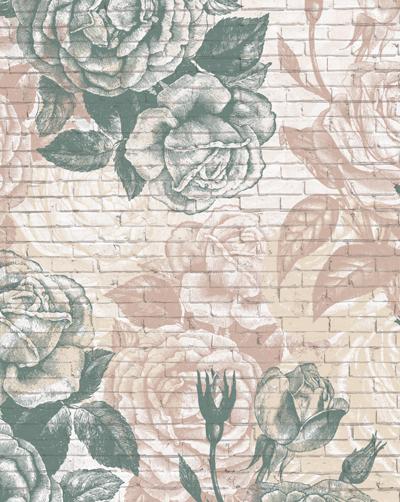 brick-vintage-roses-wallpaper-mural