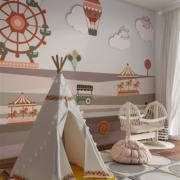 kids-carnival-designer-wallpaper-mural