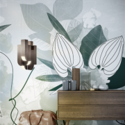organic-dark green-designer-wallpaper-mural