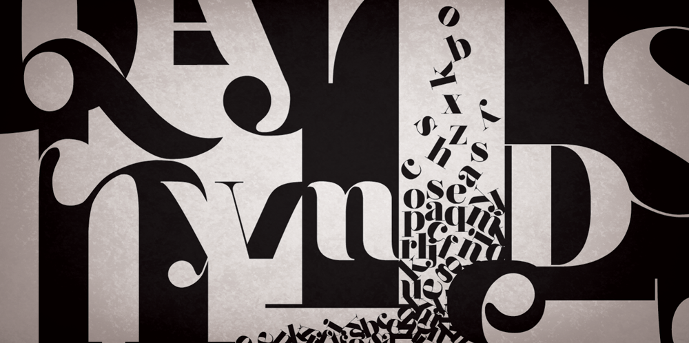 Typography Wallpaper Mural | Designer Wallpaper | Accent Wall White Paper Bag Texture